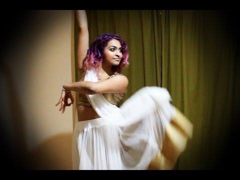 Madhuri's Kathak Dance (with Bharatanatyam) - Dil To Pagal Hai -Sarah Trivedi