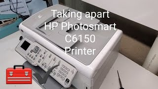 Taking apart HP Photosmart C61…