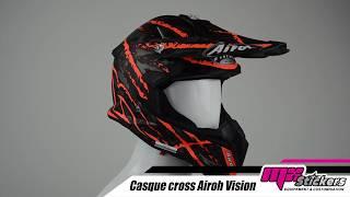 Casque Moto Cross AIROH 2019 Terminator - Mx Stickers