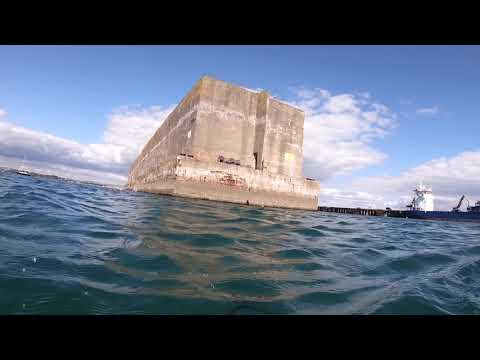 Snorkelling In Portland Harbour - Mulberry Harbour Phoenix Caissons