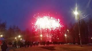 Соликамск 9 мая 2018 г. Праздничный салют