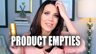 PRODUCT EMPTIES | Beauty Favorites I