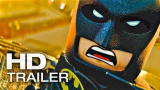 THE LEGO MOVIE Offizieller Trailer Deutsch German | 2014 Batman [HD]
