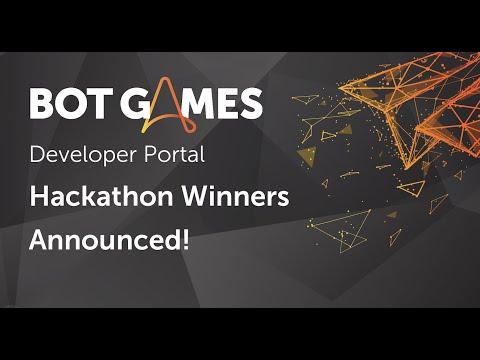 #BotGames - Hackathon Winners Announced!