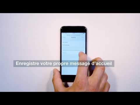 Découvrez la Visual Voice Mail de votre iPhone