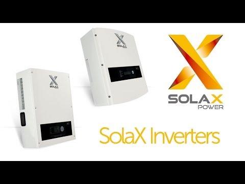 SolaX - X Series Solar Inverters