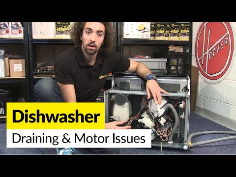 How To Diagnose Draining And Motor Problems In A Dishwasher