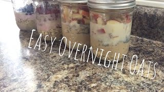 Easy & Delicious Overnight Oats | With 5 Smart Points & Under