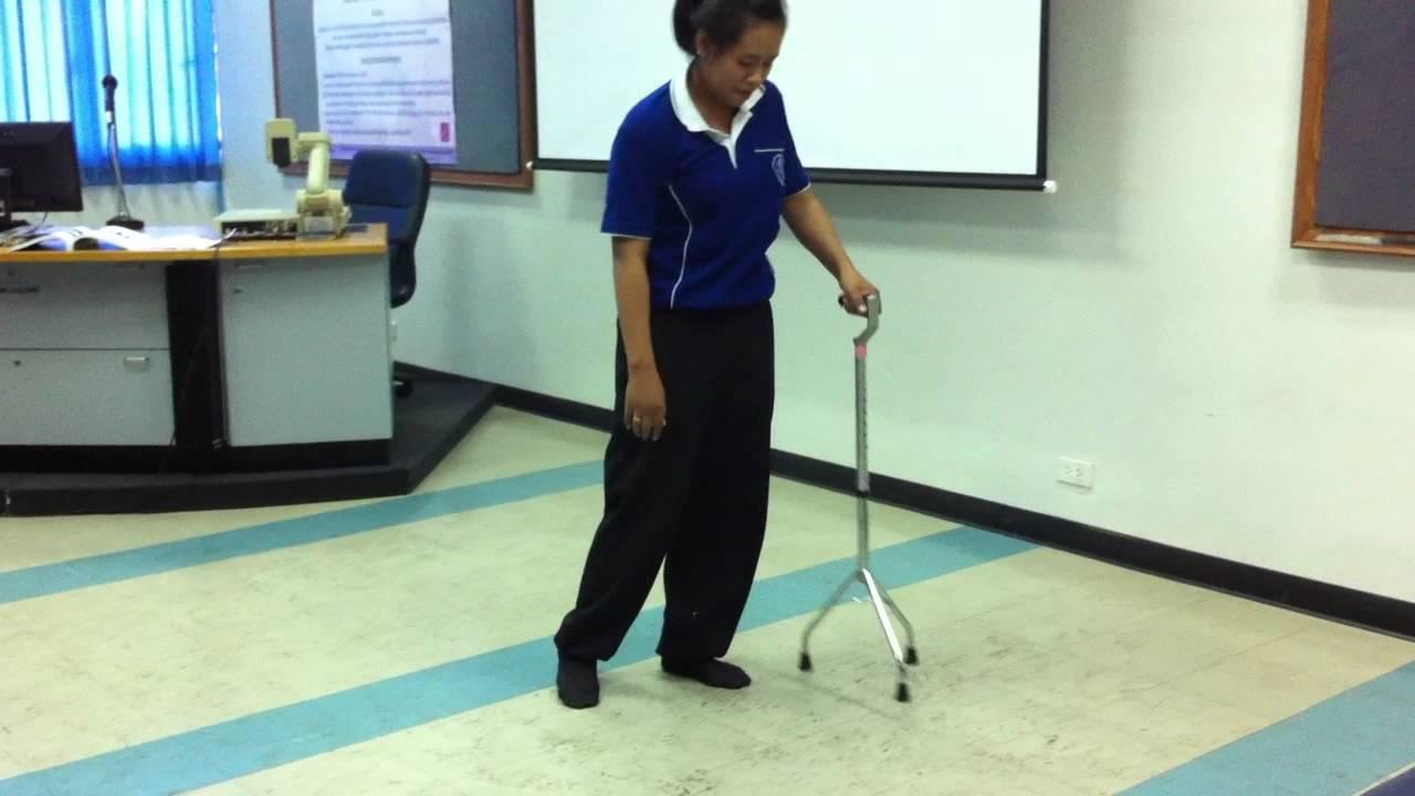 rt hemiplegia walking youtube