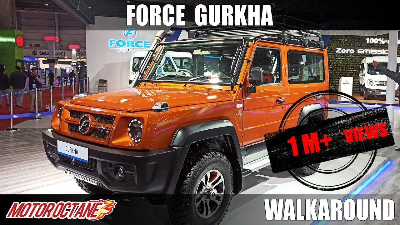 Download Force Gurkha BS6   Auto Expo 2020   Hindi   Motoroctane