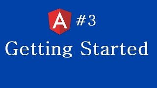 angular 2 tutorial 3 getting started