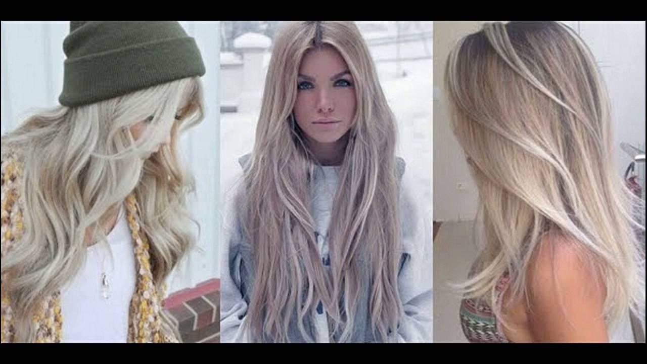 Light Ash Blonde Hair Color Ideas - YouTube