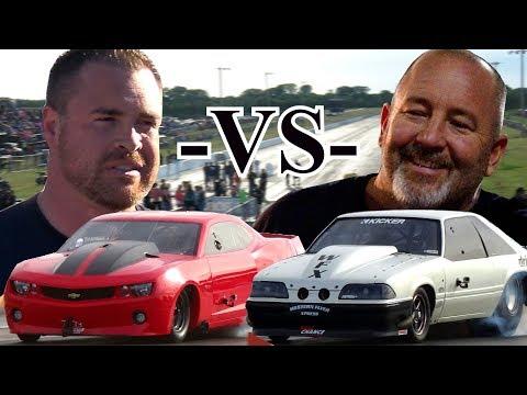 Street Outlaws Drag Racing – Chuck vs Ryan