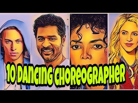 TOP 10 dancing choreographer in the world|| most popular choreographer||World best choreographer|