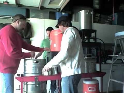Brewing all grain-gravity setup