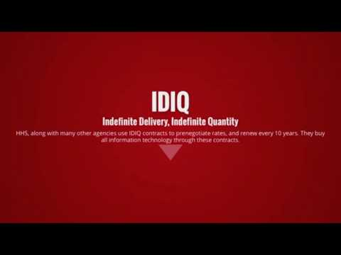 IDIQ What Went Wrong