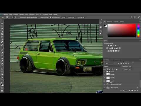 Speed Art Tuning Brasilia / Photosho