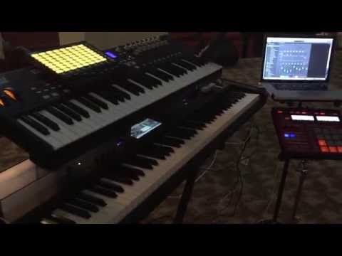 John Mike Showcases His Setup and How he Runs Stems Live!