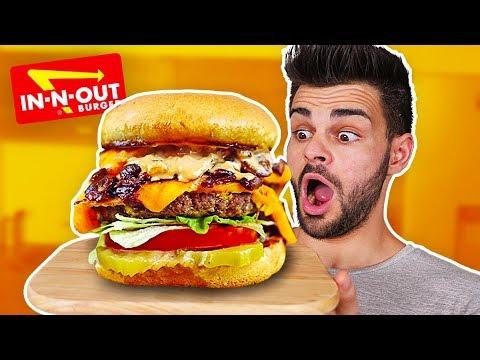 RECETTE D'UN BIG BURGER IN-AND-OUT ! (Burger Secret)