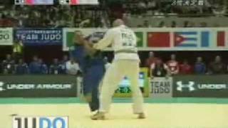 JUDO 2008 World Team Championships: Yasuyuki Muneta 棟田 康幸 (JPN) - Alexander Mikhaylin (RUS)