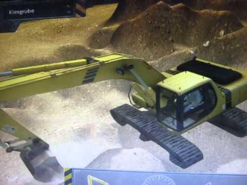 el mejor simulador de excavadora  YouTube