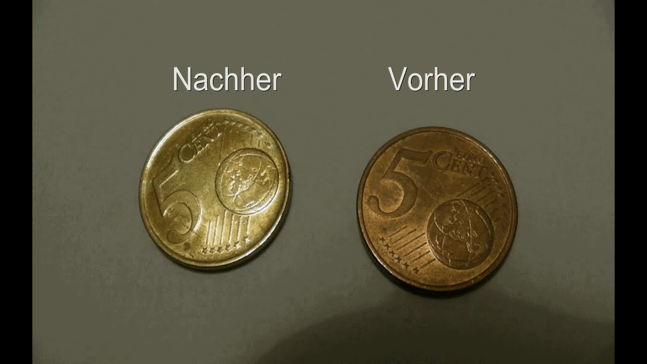 Vergolden Einer Münze Gildening A Coin Youtube