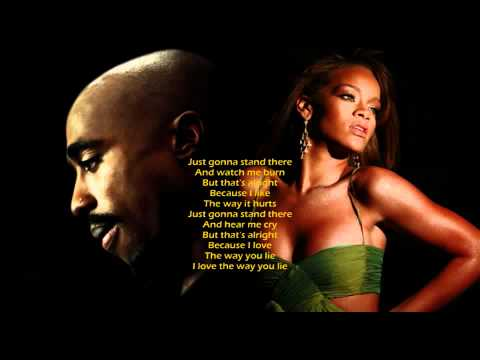 2Pac & Rihanna - Love The Way You Lie (KreZmix + Subs)