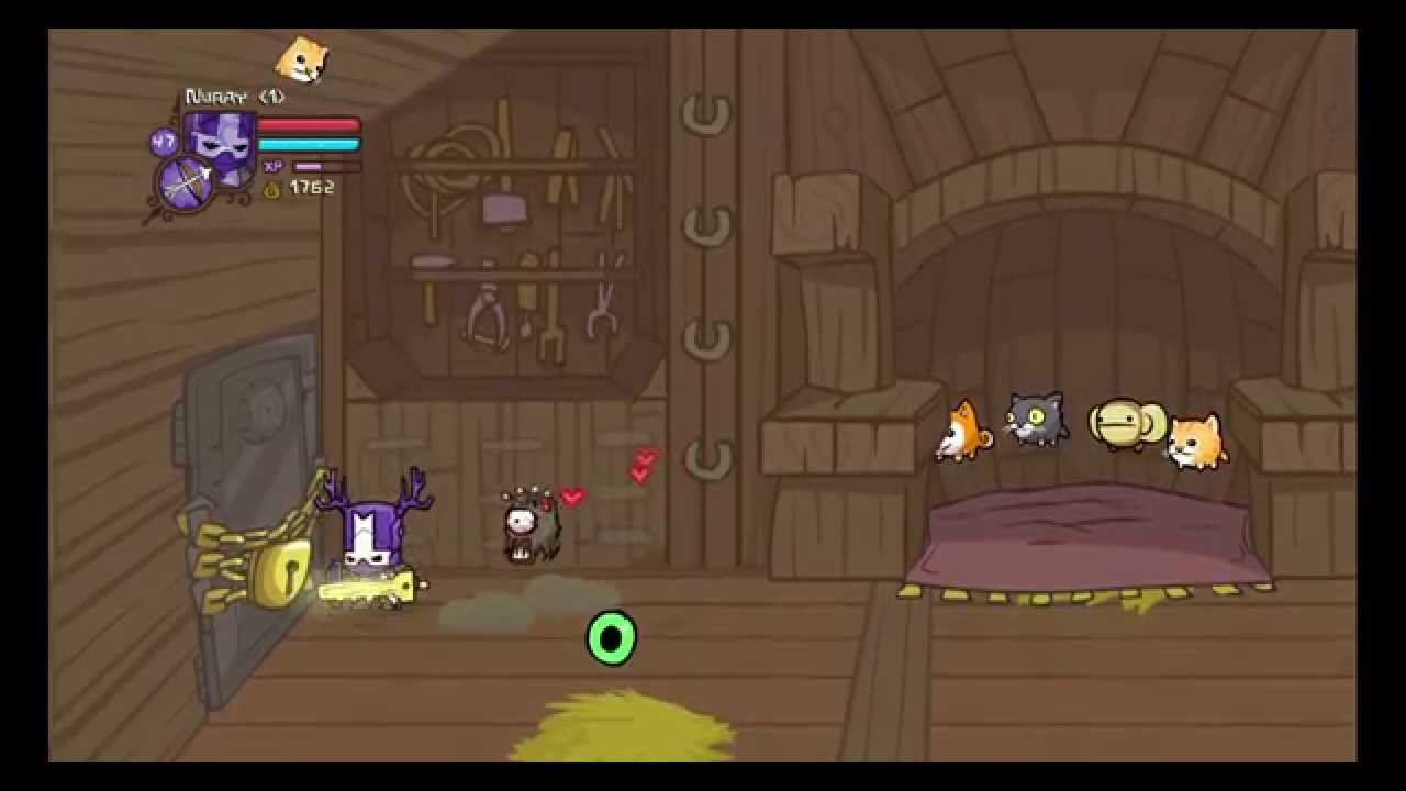 Castle Crashers Cardinal Beholder And Key Sword Guide Youtube