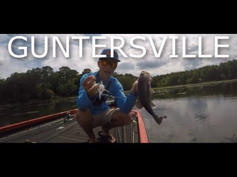 PREFISHING For A TOURNAMENT On GUNTERSVILLE LAKE