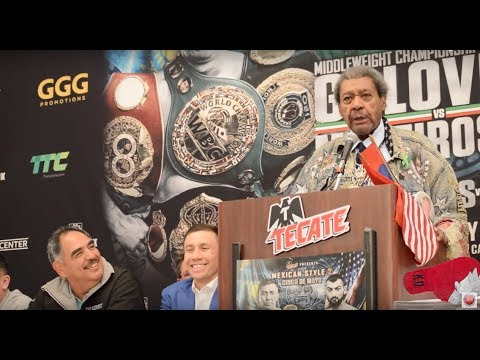 """LOL! MUST WATCH! KING CALL GGG """"CHAMPION OF THE LOSERS!"""""""