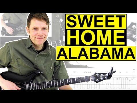 How To Play Sweet Home Alabama - Lynyrd Skynyrd Guitar Lessons