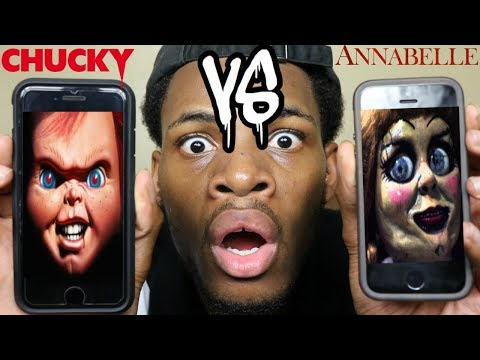 CALLING CHUCKY AND ANABELLE *THEY GOT INTO A FIGHT* (DISSTRACK) ROAST BATTLE!
