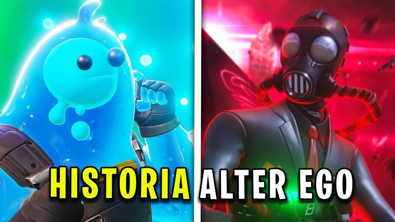 TODA LA HISTORIA de ALTER EGO y BLANDITO - Explicación Fortnite 2