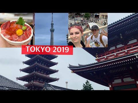 JAPAN VLOG 2 | TSUKIJI FISH MARKET | SENSO-JI TEMPLE | TOKYO SKYTREE | LAWSONS