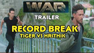 War Teaser Record break Hrithik Roshan, Tiger shroff का धमाका, War Teaser BREAKDOWN