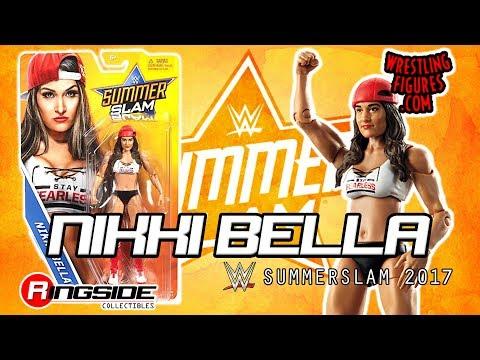 "WWE FIGURE INSIDER: Nikki Bella - WWE Series ""SummerSlam 2017"" WWE Toy Wrestling Action Figure thumbnail"
