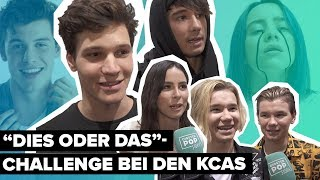 Shawn oder Billie? KCAs 2019: Julien Bam, Marcus&Martinus & Co spielen