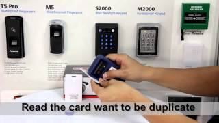 How to Copy an Apartment RFID Card? -RFID Card Duplicator