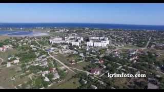Заозерное Крым курортный поселок на берегу Черного моря 2015 с высоты птичьего полета(, 2015-08-02T22:55:14.000Z)