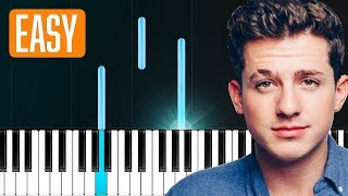 "Charlie Puth - ""The Way I Am"" 100% EASY PIANO TUTORIAL"