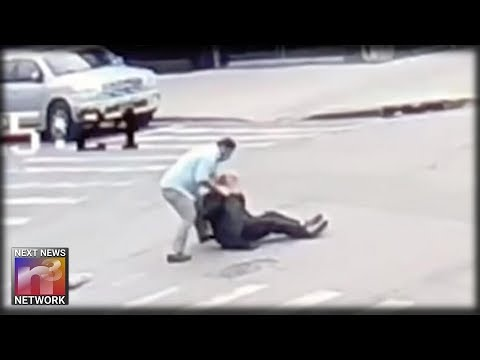 Cab Driver Shouts ONE TELLING WORD While BEATING 62 Year-Old Man in Brooklyn Street