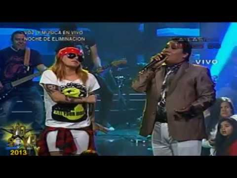 Knocking on heaven's door – Yo Soy Axl Rose y Juan Gabriel