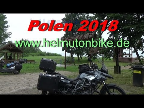 Polen (Rundreise auf dem Motorrad) Juli 2018