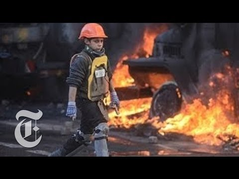 Ukraine Protest 2014: Scenes of Violence | The New York Times