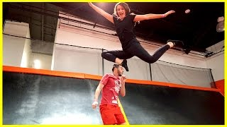 TRAMPOLINE PARK GONE WRONG!