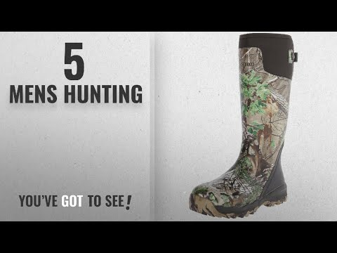"Top 10 Mens Hunting [2018]: LaCrosse Men's Alphaburly Pro 18"" Hunting Boot,Realtree Xtra Green,11 M"