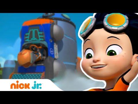 Расти-механик | Космический робот Расти 🔧| Nick Jr. Россия