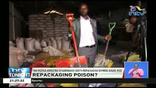 Two people have been arrested in Kariobangi South repackaging expir...