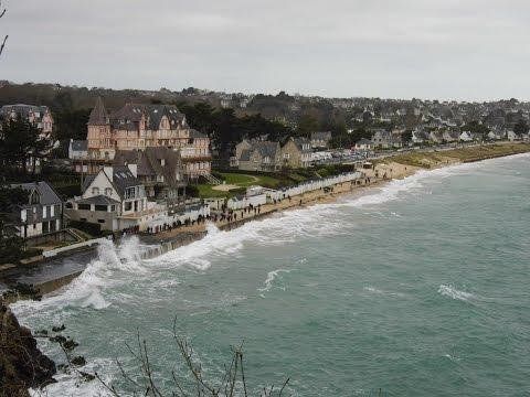 Grande marée à Saint Cast le Guildo le 22 Mars 2015