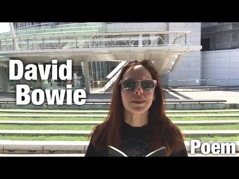 David Bowie Poem || Alison Stone